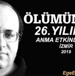 Uğur Mumcu'yu Anma Etkinlikleri – İzmir 2019