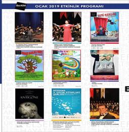 BerKM Ocak Ayı Etkinlik Programı 2019