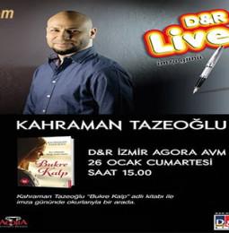 Kahraman Tazeoğlu İmza Günü – 26 Ocak 2019