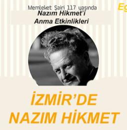 117.Yaşında İzmir'de Nazım Hikmet'i Anma Etkinlikleri 2019