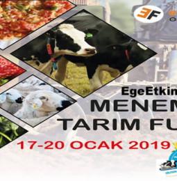 Menemen 3.Tarım ve Hayvancılık Fuarı 2019