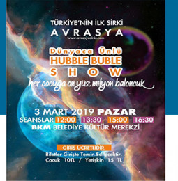 Avrasya Sirki 3 Mart'ta Torbalı'da!