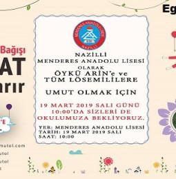 Kök Hücre ve Kan Bağışı Kampanyası – Aydın – 19 Mart 2019