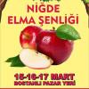 Niğde Elma Şenliği – İzmir 2019