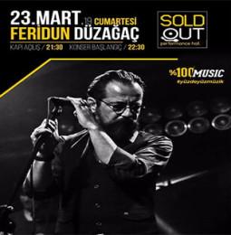 Feridun Düzağaç Konseri – 23 Mart 2019