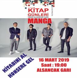 Manga İzmir Konseri – 16 Mart 2019