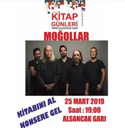 Moğollar İzmir Konseri – 25 Mart 2019