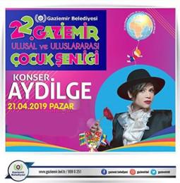 Aydilge Gaziemir Konseri – 21 Nisan 2019 – Ücretsiz