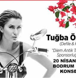 Tuğba Özay Bodrum Halk Konseri – 20 Nisan 2019