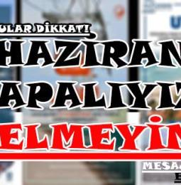 Ege'den İstanbullular'a Uyarı! 23 Haziran'da Kapalıyız…