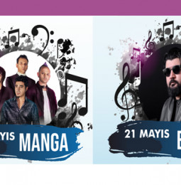 EYPİO & MaNga Akhisar Konseri – 21 Mayıs 2019 – Ücretsiz