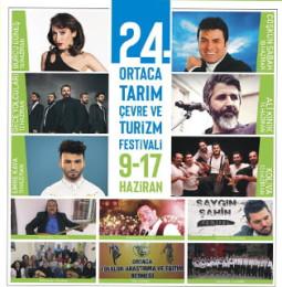 24.Ortaca Tarım Çevre ve Turizm Festivali – 9 / 17 Haziran 2019