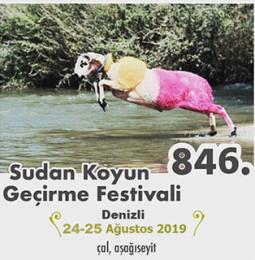 846.Denizli Sudan Koyun Geçirme Festivali 2019