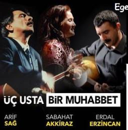 Üç Usta Bir Muhabbet Yaz Konserleri 2019