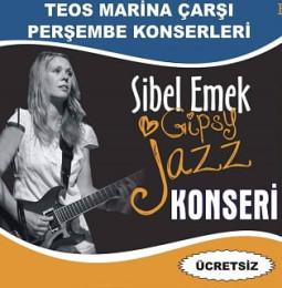Sibel Emek Gipsy Jazz Konseri – 04 Temmuz 2019 (Ücretsiz)