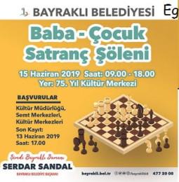 İzmir Baba Çocuk Satranç Şöleni – 15 Haziran 2019