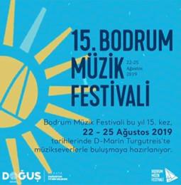 15. Bodrum Müzik Festivali 2019