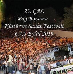 23. ÇAL Bağ Bozumu Kültür ve Sanat Festivali 2019