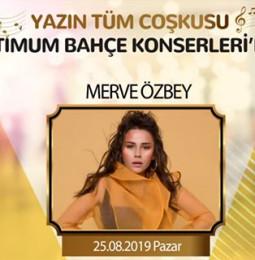 Merve Özbey İzmir Konseri – 25 Ağustos 2019