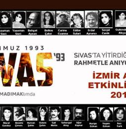 İzmirde Sivas Katliamını Anma Etkinlikleri 2019