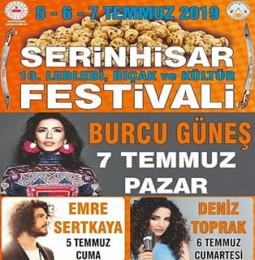 13.Serinhisar Leblebi Bıçak ve Kültür Festivali 2019
