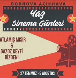 Bornova Açıkhava Yaz Sinema Günleri 2019