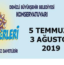 Denizli Yaz Konserleri 2019