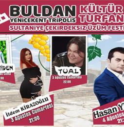 24. Buldan Çekirdeksiz Sultaniye Üzüm Festivali 2019