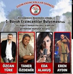 1.Büyük Didim Erzincanlılar Buluşması 2019