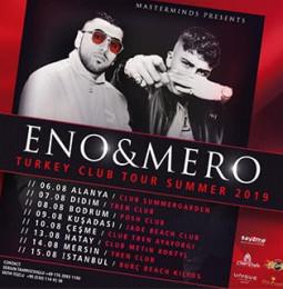 Eno & Mero Çeşme Konseri – 10 Ağustos 2019