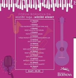 Forum Bornova Müzik Günleri – Temmuz 2019