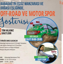 Babadağ Off-Road ve Motor Sporları Festivali – 21 Temmuz 2019