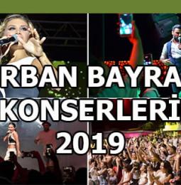 Kurban Bayramı Tatili Konserleri 2019