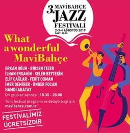 3. Mavibahçe Jazz Festivali 2019