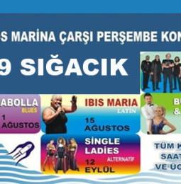Sığacık Teos Marina Perşembe Konserleri 2019