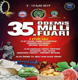 35. Ödemiş Milli Fuarı ve Kurtuluş Etkinlikleri 2019