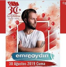 Emre Aydın Menteşe Konseri – 30 Ağustos 2019