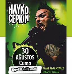 Hayko Cepkin Aydın Konseri – 30 Ağustos 2019