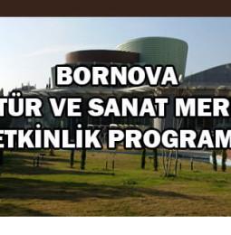 Bornova Kültür ve Sanat Merkezi Etkinlik Programı