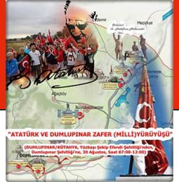2. Atatürk ve Dumlupınar Zafer Yürüyüşü 2019