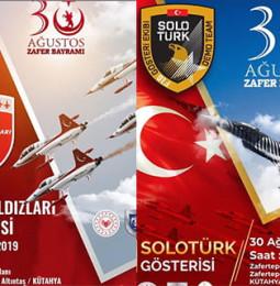 Türk Yıldızları & SoloTürk Kütahya Gösterisi – 30 Ağustos 2019