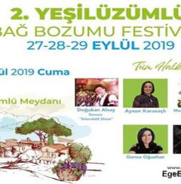 2. Fethiye Yeşilüzümlü Bağ Bozumu Festivali 2019