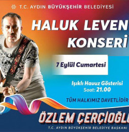 Haluk Levent Aydın Halk Konseri – 07 Eylül 2019