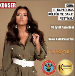 Tuğba Yurt Soma Konseri – 16 Eylül 2019