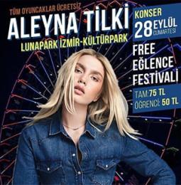 Aleyna Tilki İzmir Lunapark Konseri – 28 Eylül 2019