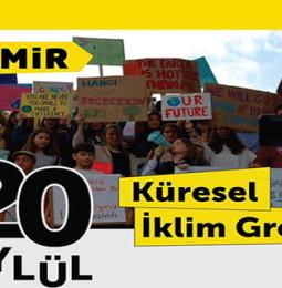 İzmir Küresel İklim Grevi – 20 Eylül 2019