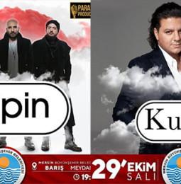 Gripin & Kubat Mersin Konseri – 29 Ekim 2019
