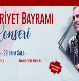 Haluk Levent Gaziemir Konseri – 29 Ekim 2019