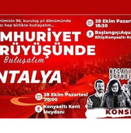 Necati ve Saykolar Antalya Konseri – 28 Ekim 2019