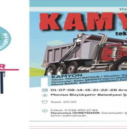 Kamyon Tiyatro Oyunu Aralık Programı 2018 (Manisa)